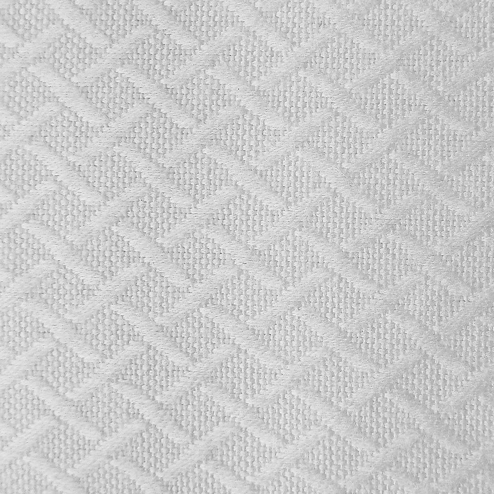Colcha de cama modelo Aspas detalle rombos