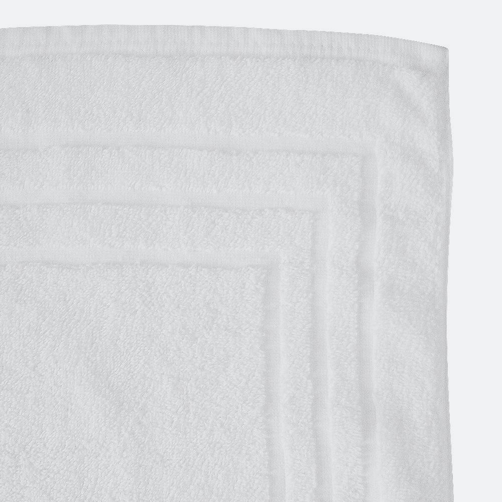 iberosa-textiles-rumbo-alfombra-de-bano-3-marcos-blanca-algodon-650-gramos-detalle
