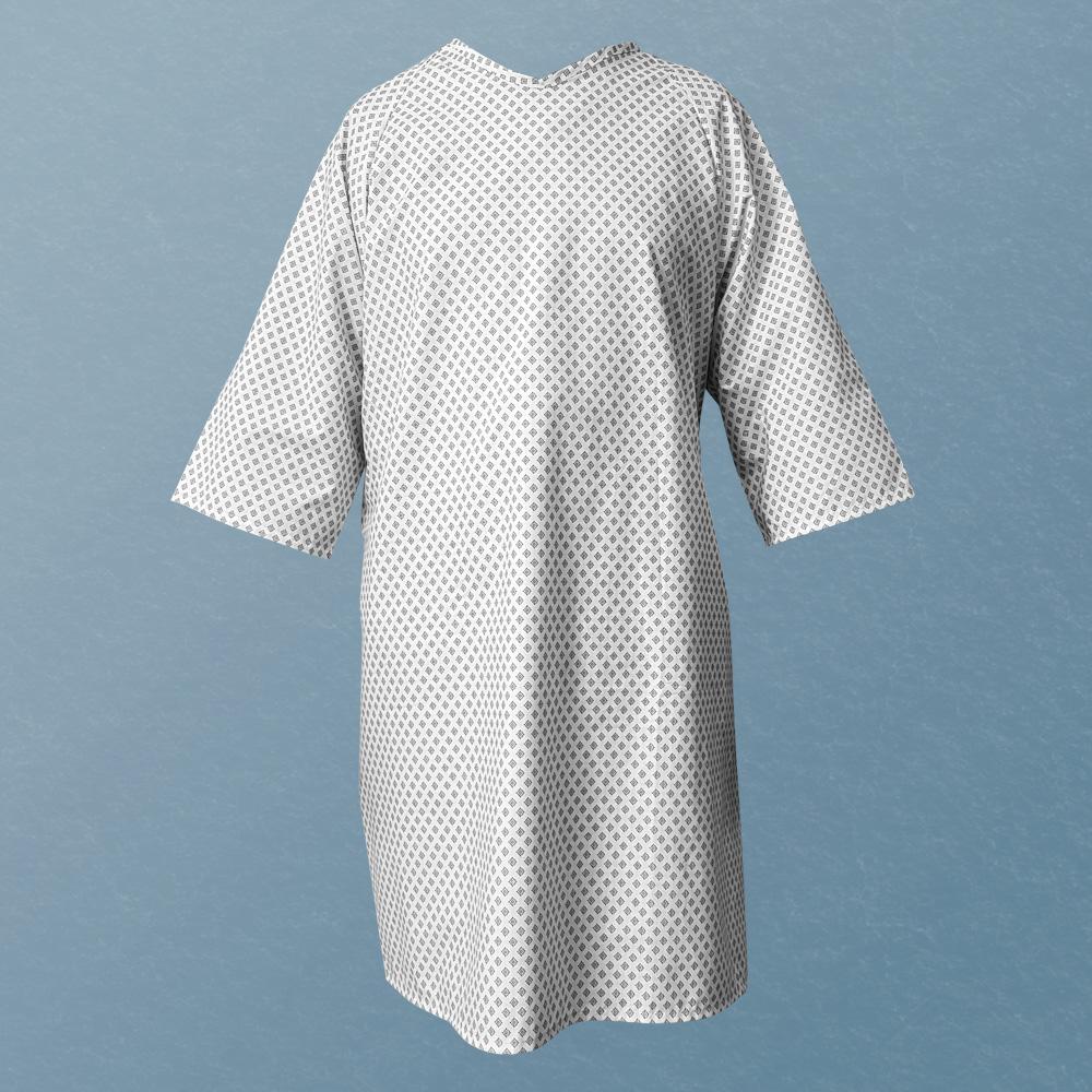 iberosa-textiles-rumbo-bata-paciente-hospital-snowflakes-cara