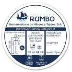 iberosa-textiles-rumbo-buzo-protector-etiqueta