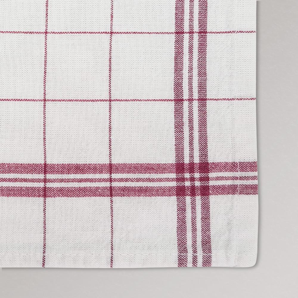 iberosa-textiles-rumbo-trapo-cocina-cuadros-granates-detalle