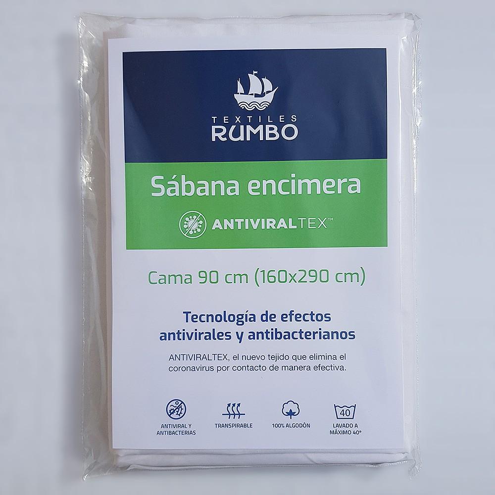 sabana-encimera-antiviraltex-blanca-percal-algodon-de-150-hilos